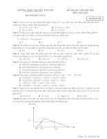 Đề thi thử đợt 1 chuẩn bị cho kì thi trung học phổ thông quốc gia năm 2015 có đáp án môn hóa học   mã đề thi 789