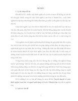 Tóm tắt luận văn Truyền thuyết về cuộc khởi nghĩa Lam Sơn và người anh hùng Lê Lợi