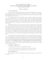 skkn KINH NGHIỆM TỔ CHỨC HOẠT ĐỘNG GIÁO DỤC NGOÀI GIỜ LÊN LỚP