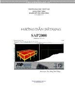 EBOOK HƯỚNG dẫn sử DỤNG SAP2000