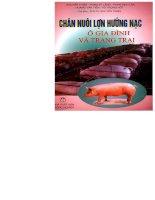 EBOOK CHĂN NUÔI lợn HƯỚNG nạc ở GIA ĐÌNH và TRANG TRẠI   PGS TS  NGUYỄN THIỆN (CHỦ BIÊN)