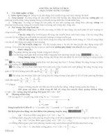 Chương 2  Sóng cơ LTDH Vật lý