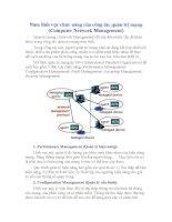 Ôn thi Viên Chức Ngành Y tế Tài liệu ôn thi môn Công nghệ thông tin Phần Tìm hiểu về công tác quản trị mạng