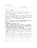 Đề thi, đáp án học sinh giỏi các tác phẩm Văn học 9