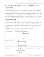 Phương pháp tọa độ hóa bài toán hình không gian   Trần Duy Thúc
