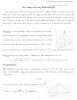 Kỹ thuật tính khoảng cách trong hình học không gian  Nguyễn Tuấn Anh