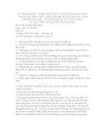 """VẬN DỤNG KIẾN THỨC LIÊN môn để GIẢI QUYẾT các TÌNH HUỐNG (ngữ văn 8) HIỆN TƯỢNG hút THUỐC lá ở học SINH"""" vận DỤNG KIẾN THỨC LIÊN môn để GIẢI QUYẾT các TÌNH HUỐNG QUA bài """"ôn DICH THUỐC lá"""
