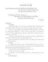 """giáo án tích hợp liên môn ngữ văn + địa lý 11 bài liên bang nga và bài thơ """"tôi yêu em"""""""