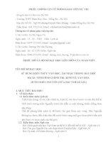 tích hợp liên môn lịch sử 10 bài 25 TÌNH HÌNH CHÍNH TRỊ, KINH tế, văn hóa dưới TRIỀU NGUYỄN (nửa đầu THẾ kỉ XIX)