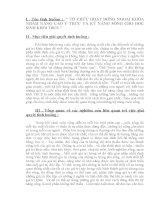 VẬN DỤNG KIẾN THỨC LIÊN môn để GIẢI QUYẾT các TÌNH HUỐNG (ngữ văn thcs) tổ CHỨC HOẠT ĐỘNG NGOẠI KHÓA NHẰM NÂNG CAO ý THỨC và kỹ NĂNG SỖNG CHO học SINH KHỐI THCS
