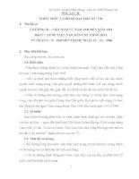 giáo án tích hợp liên môn lịch sử 12 bài 17 – nước VIỆT NAM dân CHỦ CỘNG hòa từ NGÀY 2 – 9 – 1945 đến TRƢỚC NGÀY 19 – 12 – 1946