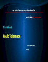 Tìm hiểu về fault tolerance