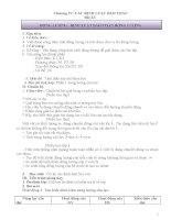 Giáo án vật lí 10 (phát triển năng lực HS)