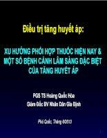 PGS TS hoang quoc hoa  phoi hop thuoc trong dieu tri THA