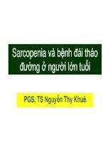 PGS TS nguyenthykhue sarcopenia DM elderly 2013