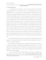 Báo cáo kiến tập quản trị nhân lực: Báo cáo kiến tập quản trị nhân lực: Đào tạo bồi dưỡng cán bộ công chức tại UBND huyện nông cống