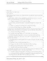 Báo cáo kiến tập quản trị văn phòng tại PHÒNG nội vụ HUYỆN yên DŨNG