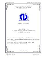 Báo cáo kiến tập quản trị văn phòng tại HĐND, UBND THÀNH PHỐ bắc NINH