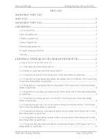 Báo cáo kiến tập quản trị nhân lực: THỰC TRẠNG đội NGŨ cán bộ, CÔNG CHỨC xã, THỊ TRẤN của HUYỆN QUẾ võ TỈNH bắc NINH