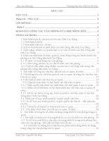 Báo cáo kiến tập quản trị văn phòng tại HỘI NÔNG dân TỈNH CAO BẰNG