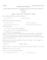 Bài tập toán cao cấp ánh xạ tuyến tính