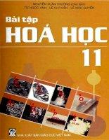EBOOK bài tập hóa học 11   PHẦN 1   NGUYỄN XUÂN TRƯỜNG (CHỦ BIÊN)
