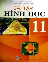 EBOOK bài tập HÌNH học 11   PHẦN 1   MỘNG HY (CHỦ BIÊN)