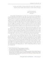 ĐÁNH GIÁ CHẤT LƯỢNG DÂN SỐ 5 DÂN TỘC THIỂU SỐ BẰNG CÁCH  TÍNH CHỈ SỐ CHẤT LƯỢNG DÂN SỐ PIQ
