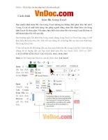 Cách đính kèm file trong Excel Hướng dẫn chèn file, tập tin trong Excel