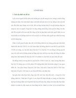 LUẬN án TIẾN SĨ -  đổi mới các tổ CHỨC CHÍNH TRỊ xã hội TRONG QUÁ TRÌNH CHUYỂN SANG nền KINH tế THỊ TRƯỜNG