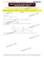 Khảo sát hàm số phân thức phần 2 đoàn việt hùng
