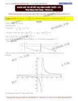 Khảo sát hàm số phân thức phần 1 đoàn việt hùng