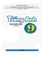 Sách giáo viên Tiếng Anh 9 thí điểm Tập 1