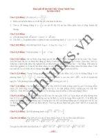 Đề thi thử toán thầy đặng thành nam_đề số 3