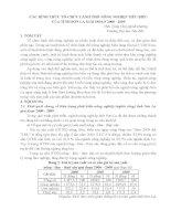 CÁC HÌNH THỨC TỔ CHỨC LÃNH THỔ NÔNG NGHIỆP TỈNH SƠN LA GIAI ĐOẠN 2000 2009