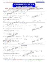 Phương pháp đưa về cùng cơ số giải phương trình mũ