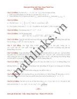 Đề thi thử toán thầy đặng thành nam_đề số 2