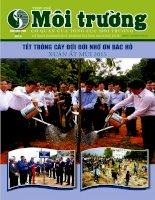 Tạp chí môi trường số 3   2015