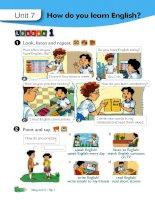 Sách giáo viên Tiếng Anh 5 thí điểm tập 2