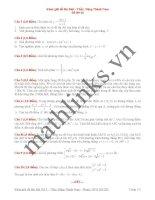 Đề thi thử toán thầy đặng thành nam_đề số 10