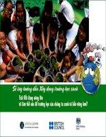 Sổ tay hướng dẫn xây dựng trường học xanh