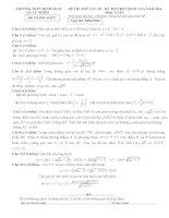 Free đề thi thử môn toán 2016 trường THPT minh châu lần 3