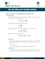 Các dạng bài tập về điện trương phần 1