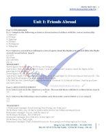 IELTS từ con số 0   unit 1 (đa)