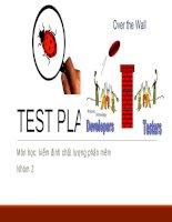 Kiểm thử phần mềm (test plan)