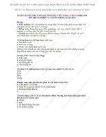 TẬP hợp các đề THI TUYỂN DỤNG GIAO DỊCH VIÊN của NGÂN HÀNG VIETCOMBANK VIETTINBANK và BIDV