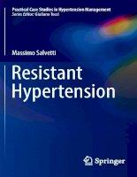 Resistant hypertension 2016