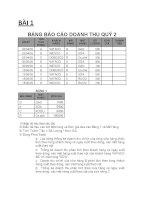 Bài tập Excel 2010 BT PIVOT TABLE