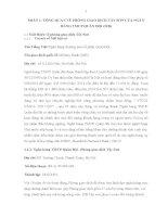 Báo cáo thực tập về ngân hàng thương mại cổ phần quân đội MB chi nhánh sơn tây