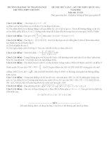 Đề thi thử môn toán 2016 trường THPT chuyên sư phạm   hà nội   lần 1